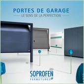 Portes de garage Soprofen