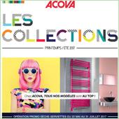 Acova lance l'opération promo LES COLLECTIONS