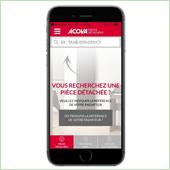 Acova lance l'appli mobile Acova Pièces Détachées