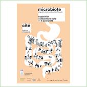 Porcher mécène de l'exposition Microbiote