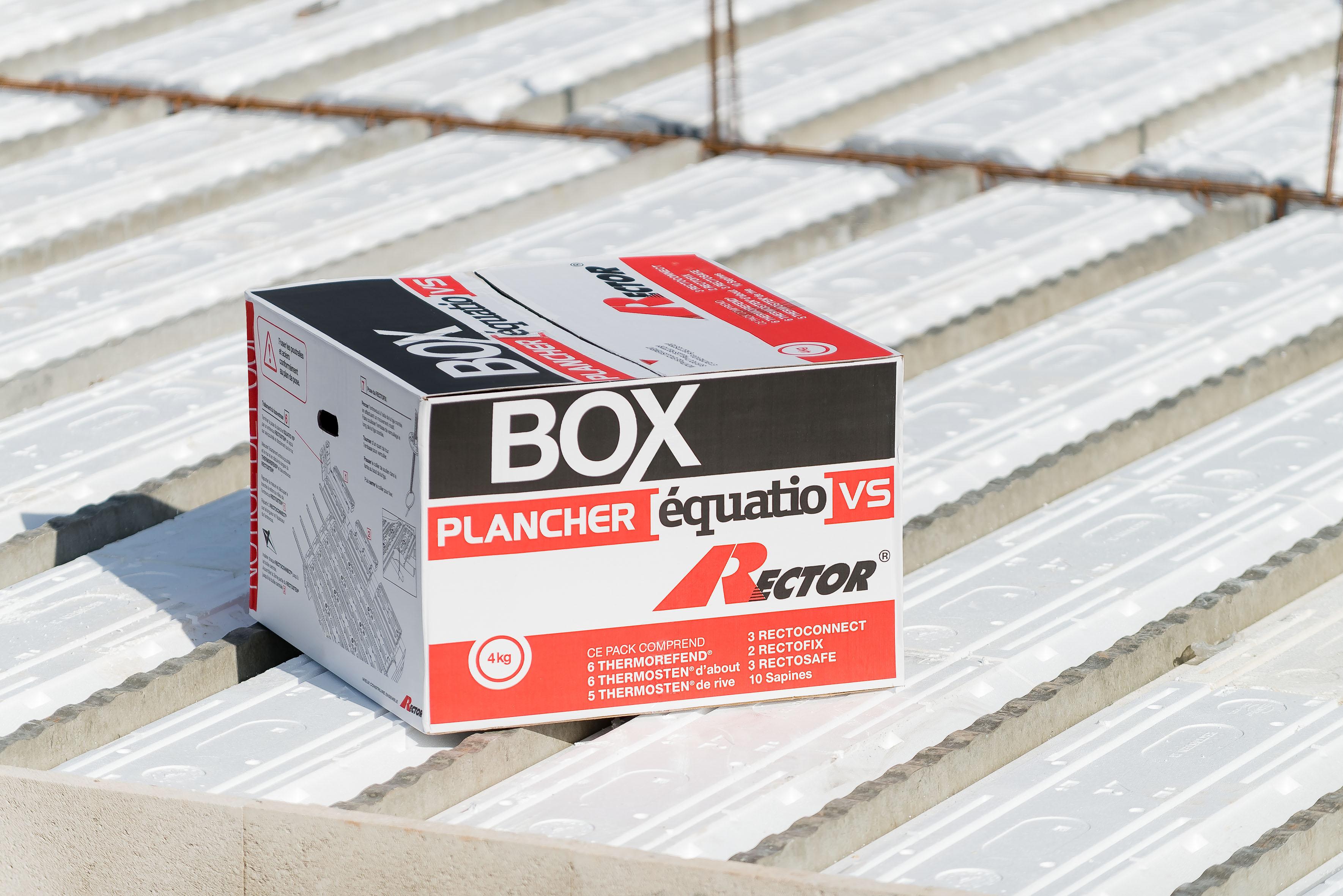 Box equatio vs de rector pour planchers sur vide sanitaire batipresse - Plancher sur vide sanitaire ...