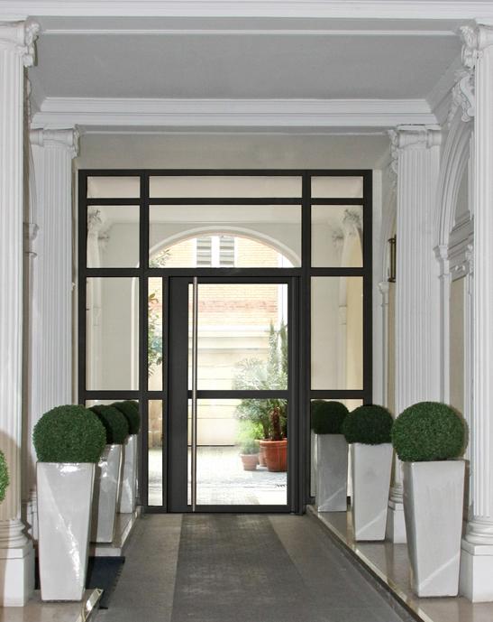 hall d'entrée d'immeuble hausmannien