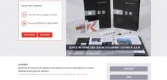 KAWNEER ONLINE page accueil