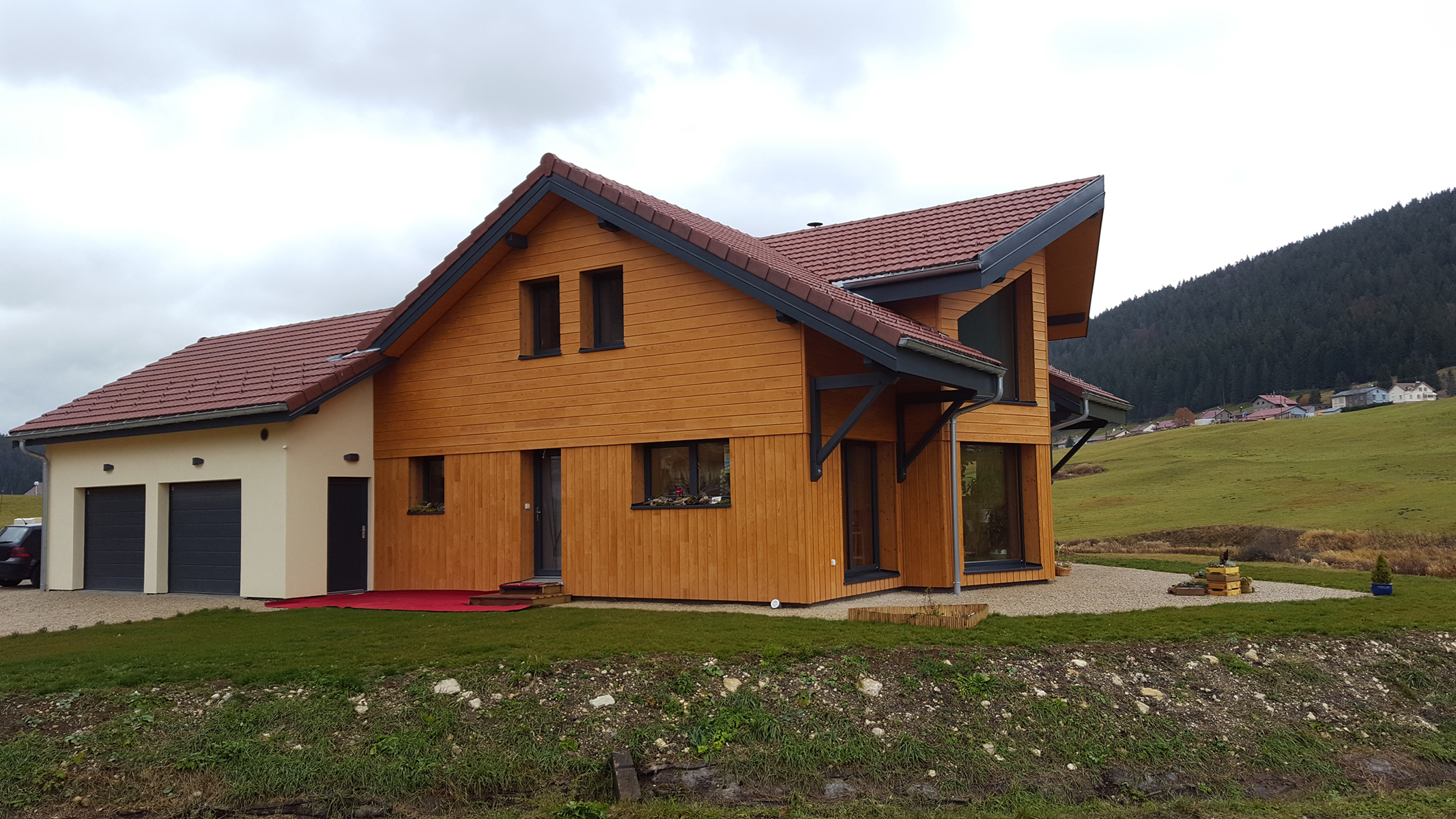 Constructeur maison bois franche comte for Constructeur maison bois